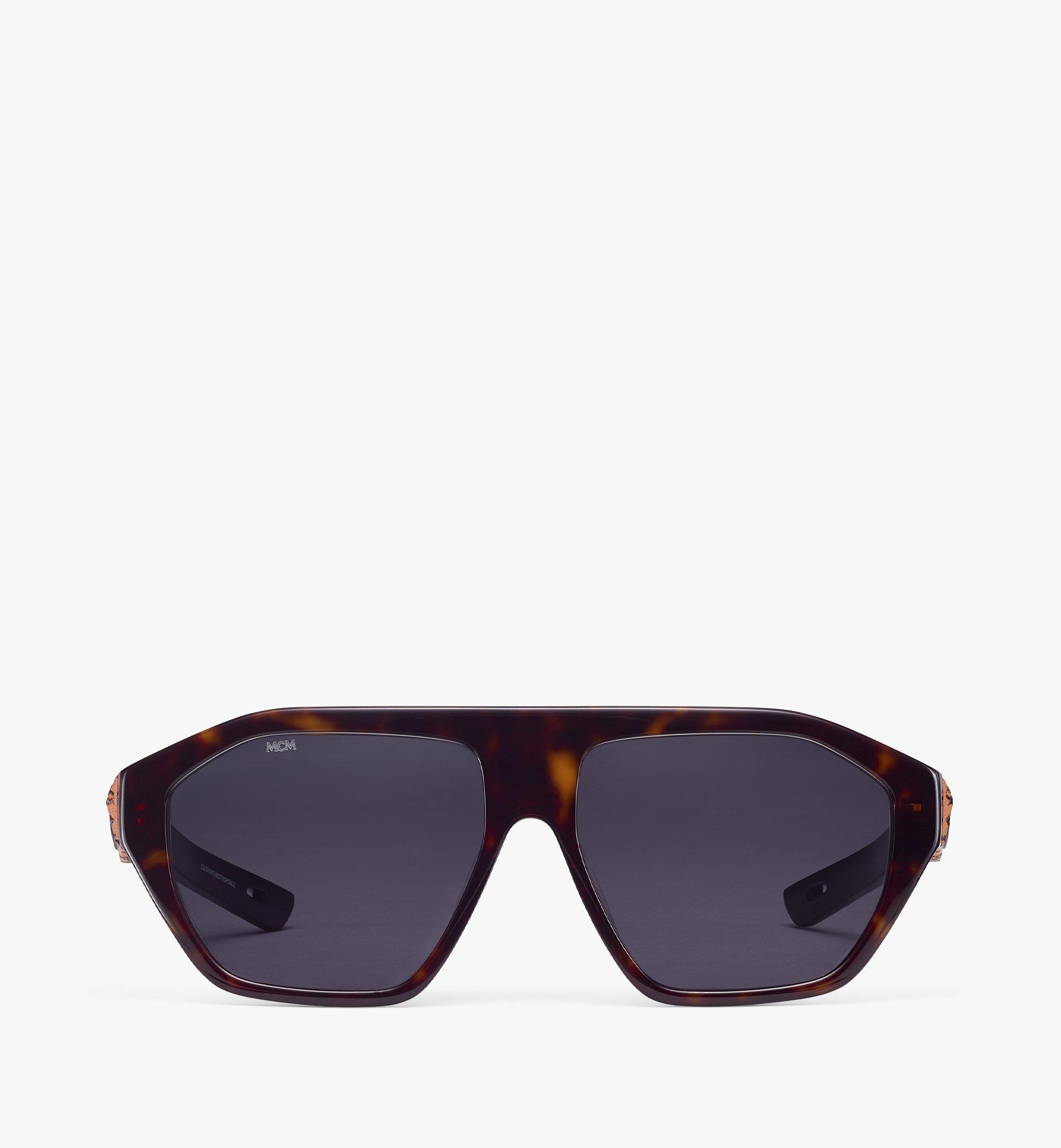 MCM 705SL Sunglasses Brown MEGBSMM25N3001 Alternate View 1