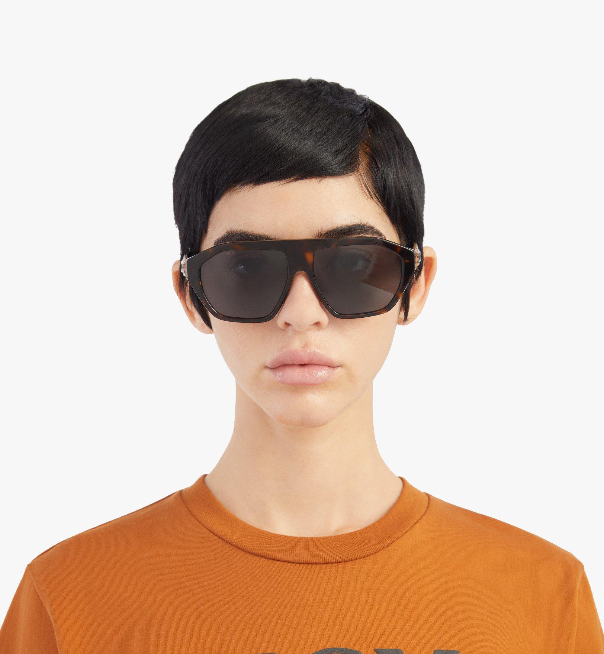 MCM 705SL Sunglasses Brown MEGBSMM25N3001 Alternate View 3