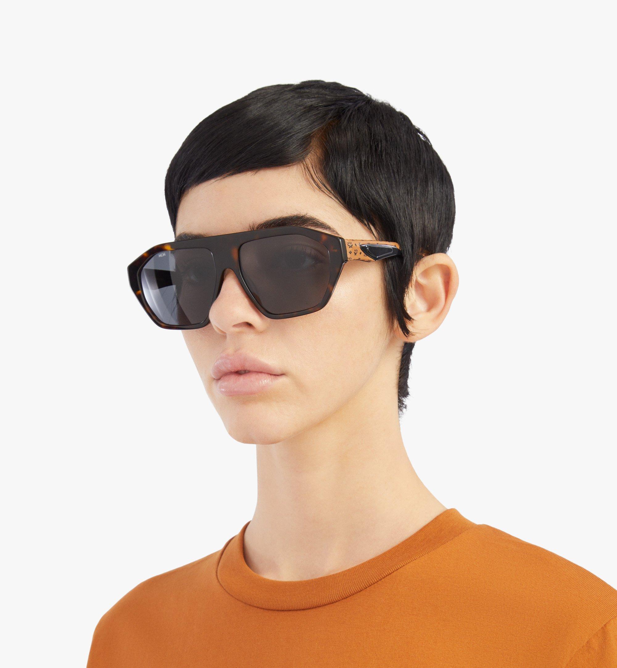MCM 705SL Sunglasses Brown MEGBSMM25N3001 Alternate View 4