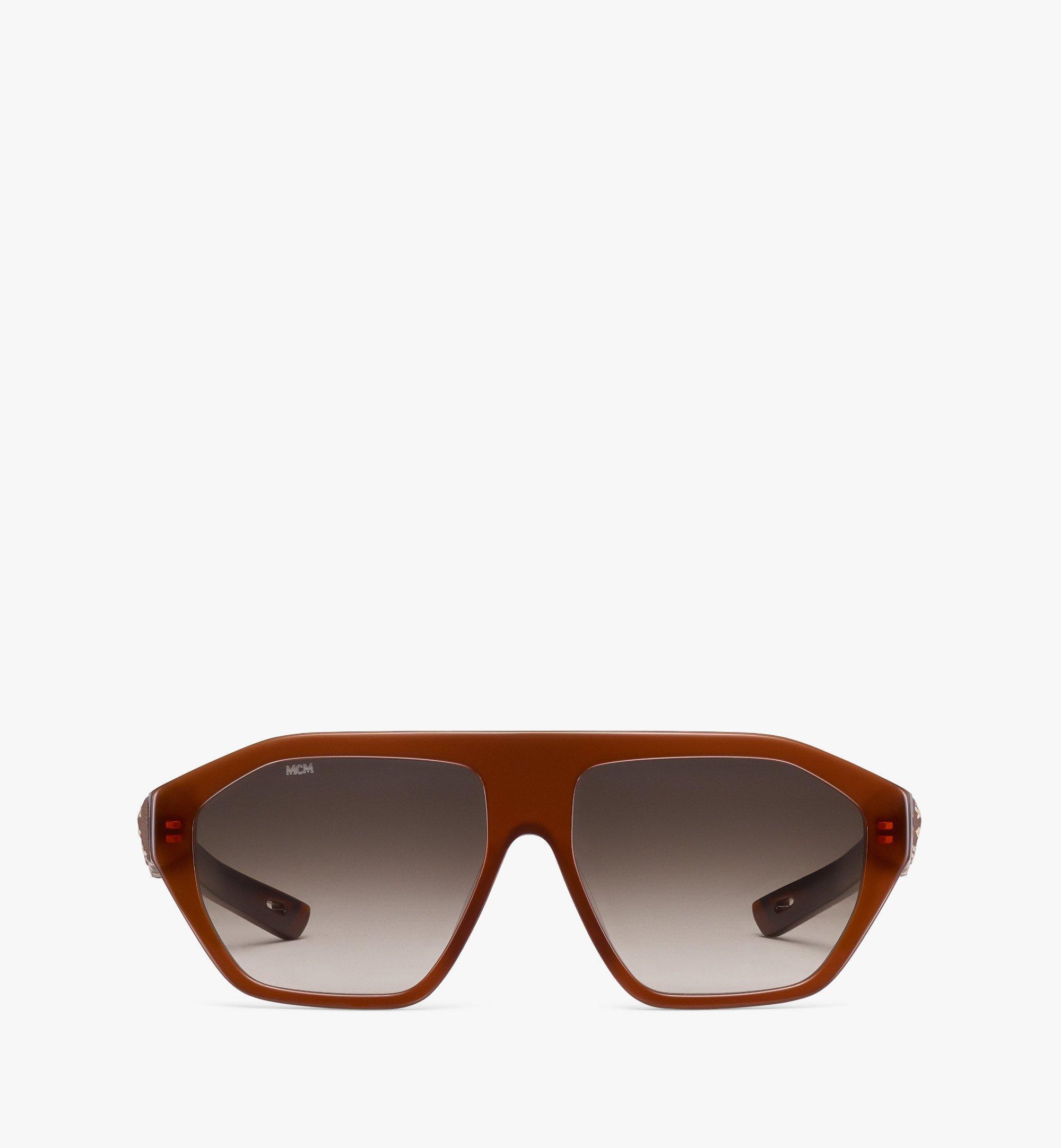 MCM 705SL Sunglasses Brown MEGBSMM25NR001 Alternate View 1