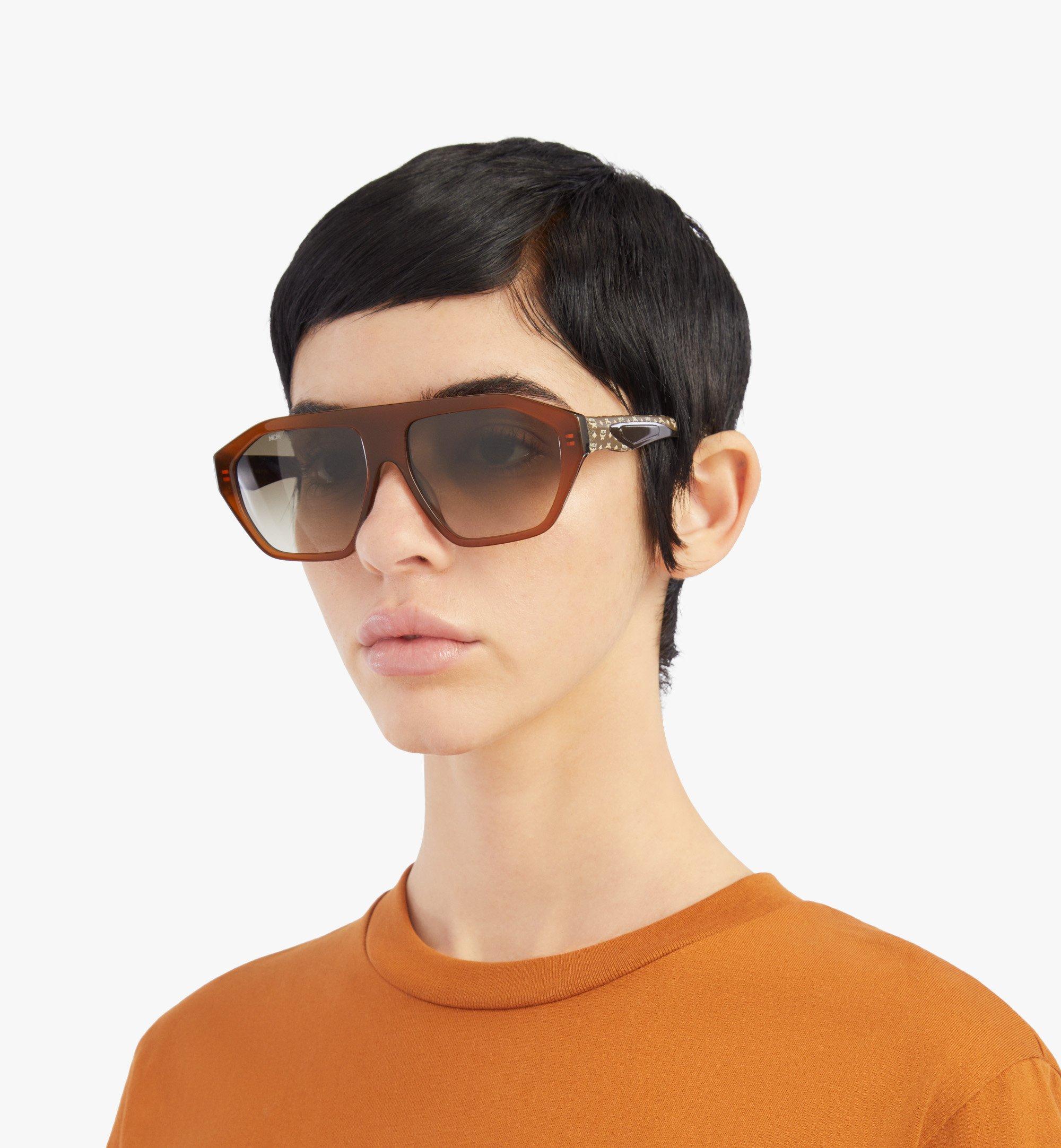 MCM 705SL Sunglasses Brown MEGBSMM25NR001 Alternate View 3