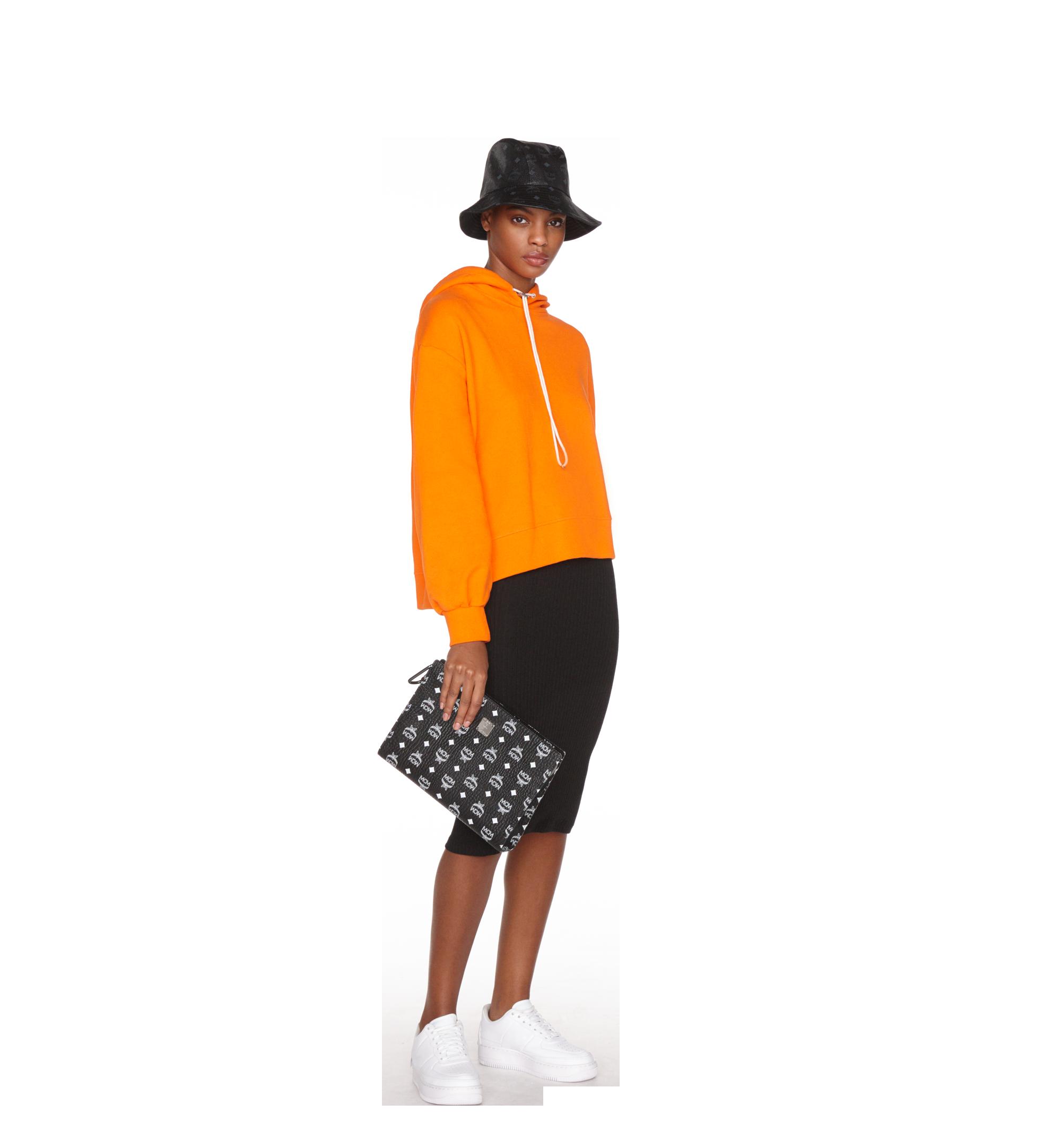 MCM Bucket Hat in Visetos Black MEH9S2K03BK001 Alternate View 2