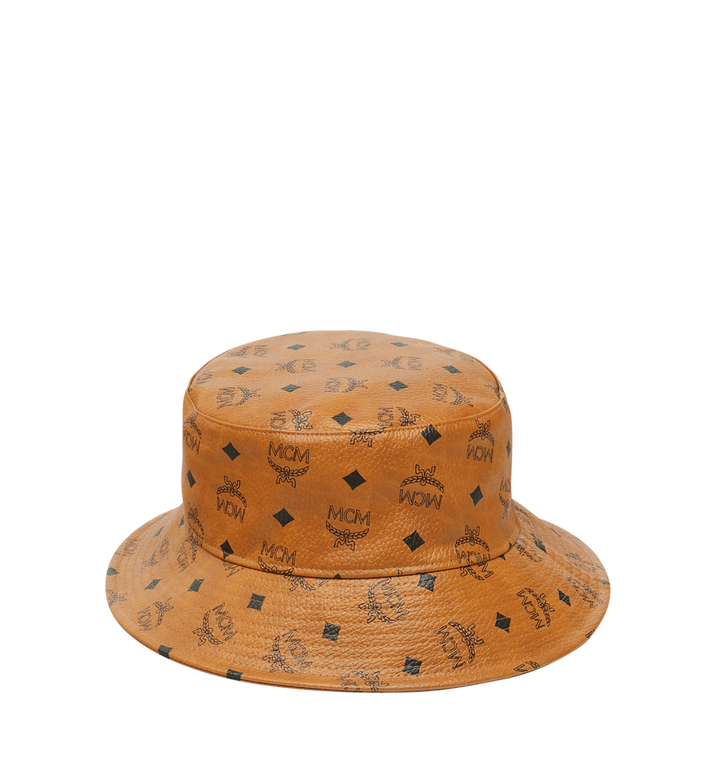 MCM Bucket Hat in Visetos Alternate View