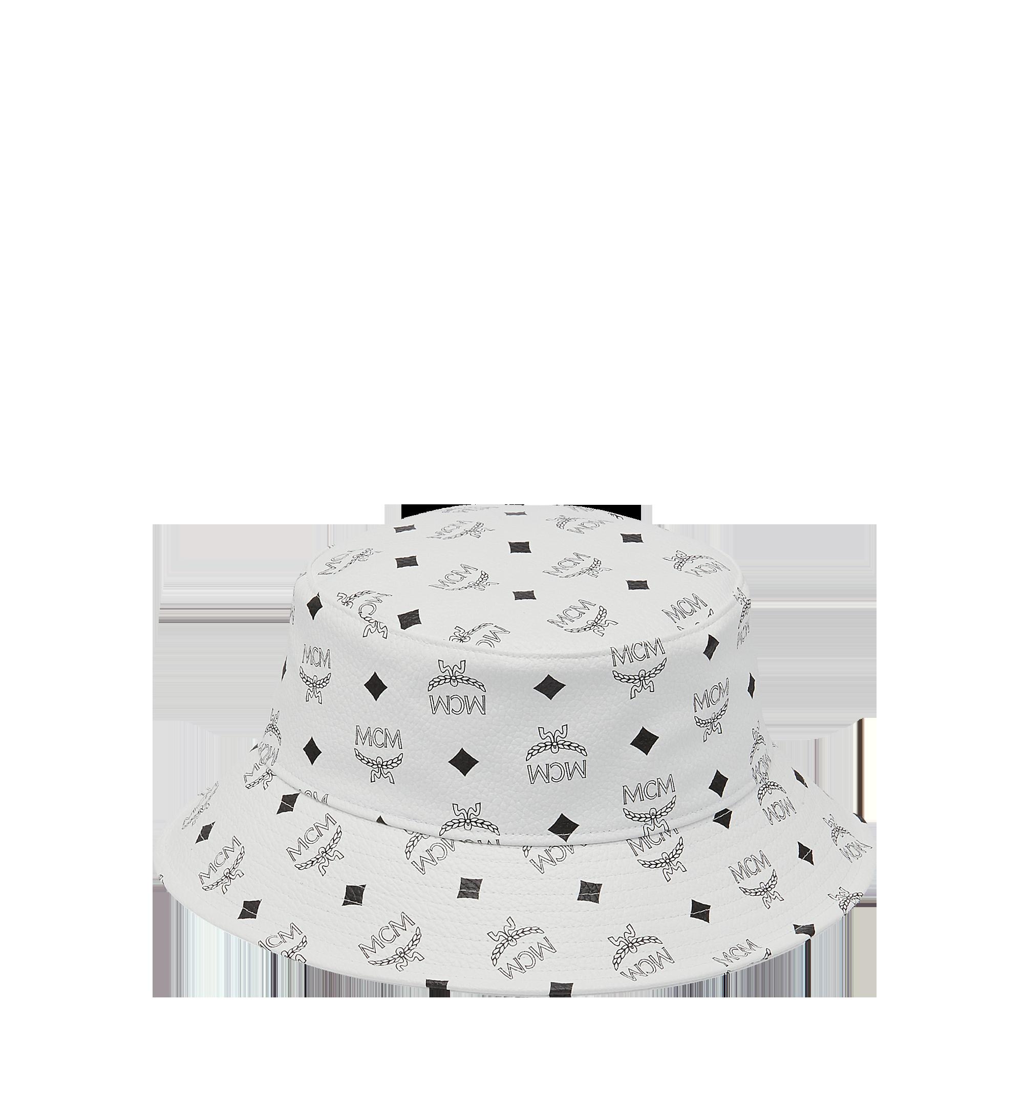 0fc7dbfd904 One Size Visetos Bucket Hat White