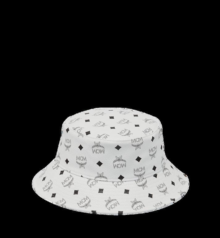 MCM Bucket Hat in Visetos Alternate View