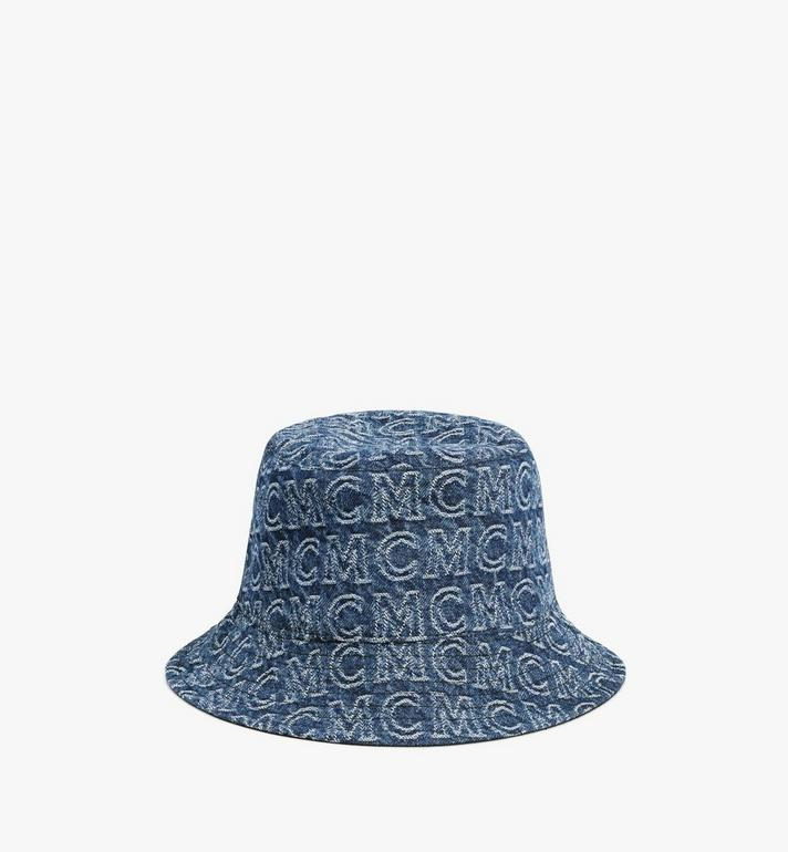 MCM Bucket Hat in Monogram Denim Alternate View