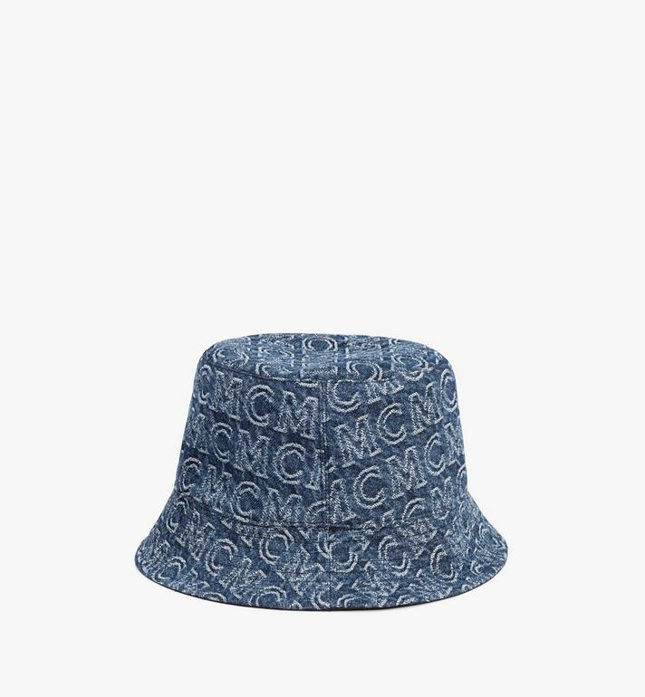 MCM Bucket Hat in Monogram Denim Blue MEHAADS02VW001 Alternate View 2