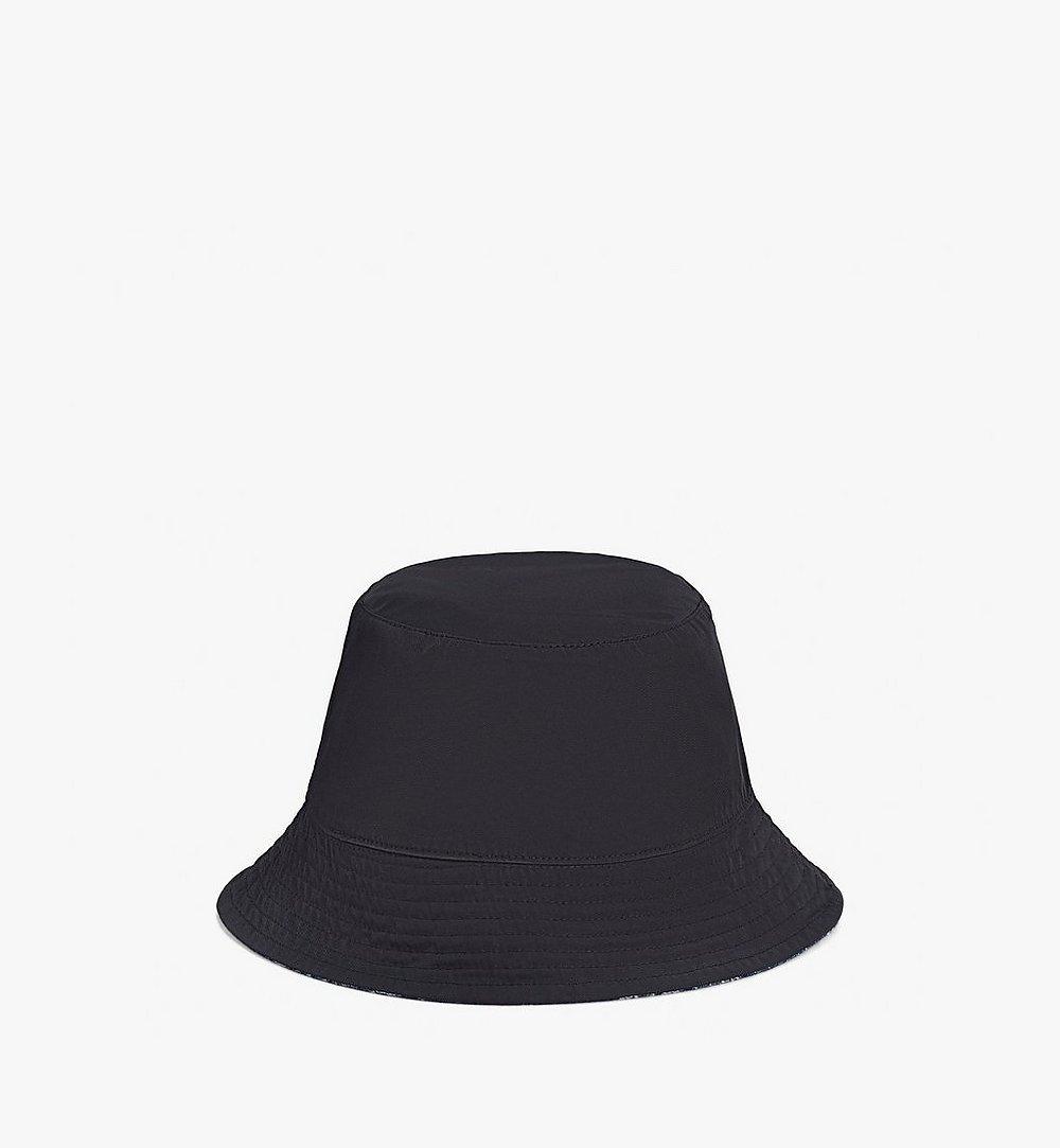 MCM Bucket Hat in Monogram Denim Black MEHAADS02VW001 Alternate View 2