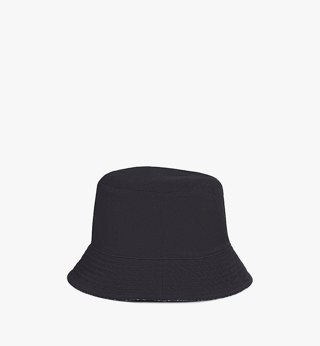 MCM Bucket Hat in Monogram Denim Black MEHAADS02VW001 Alternate View 3