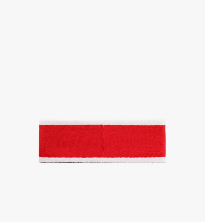 MCM Logo Headband Red MEHAAMM01RP001 Alternate View 2