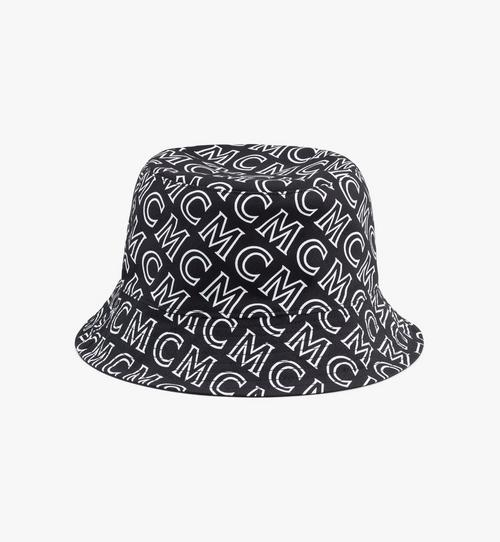 Reversible Monogram Bucket Hat