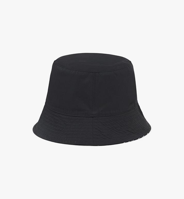 MCM Reversible Monogram Bucket Hat Cognac MEHAAMM03B4001 Alternate View 4