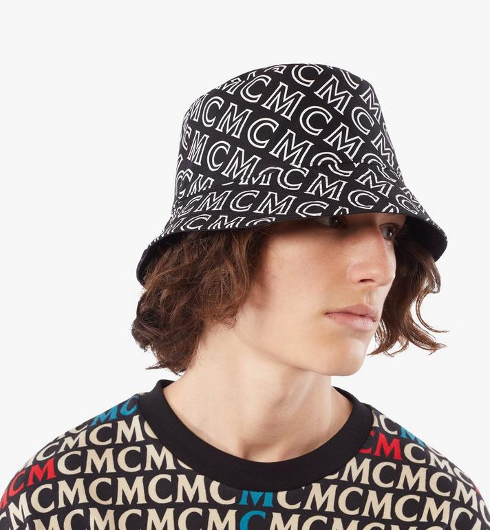 MCM Reversible Monogram Bucket Hat Cognac MEHAAMM03B4001 Alternate View 6