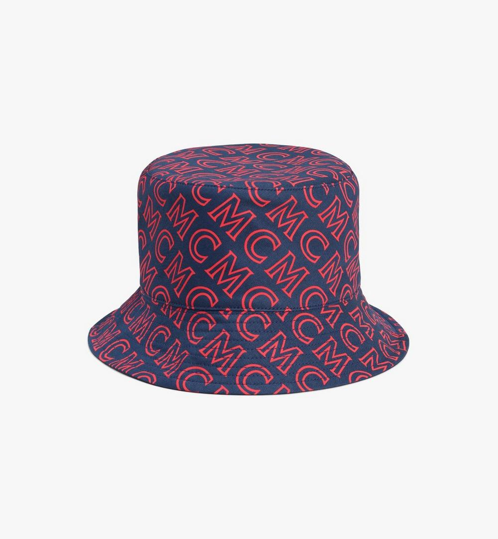 Reversible Monogram Bucket Hat 1
