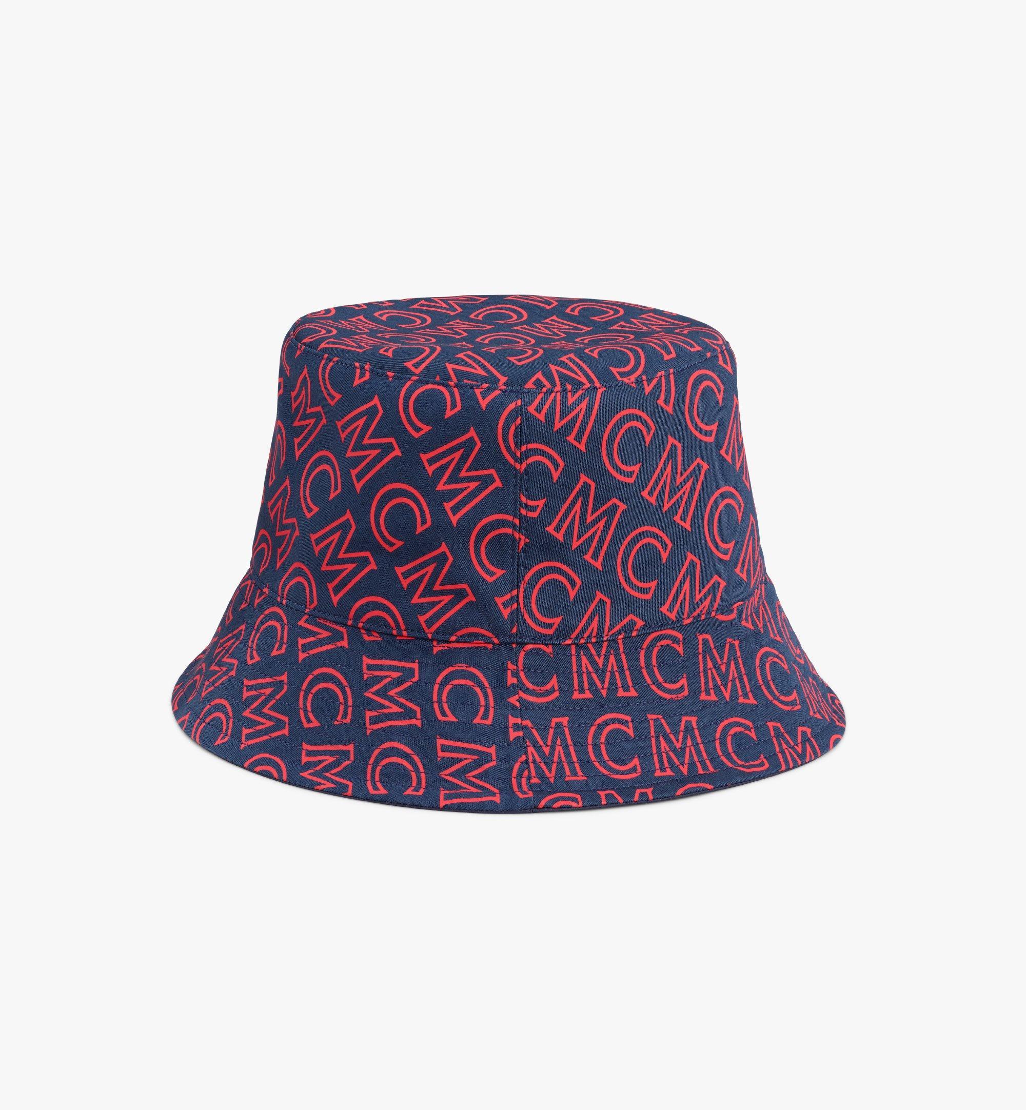 MCM Reversible Monogram Bucket Hat Pink MEHAAMM03VV001 Alternate View 2