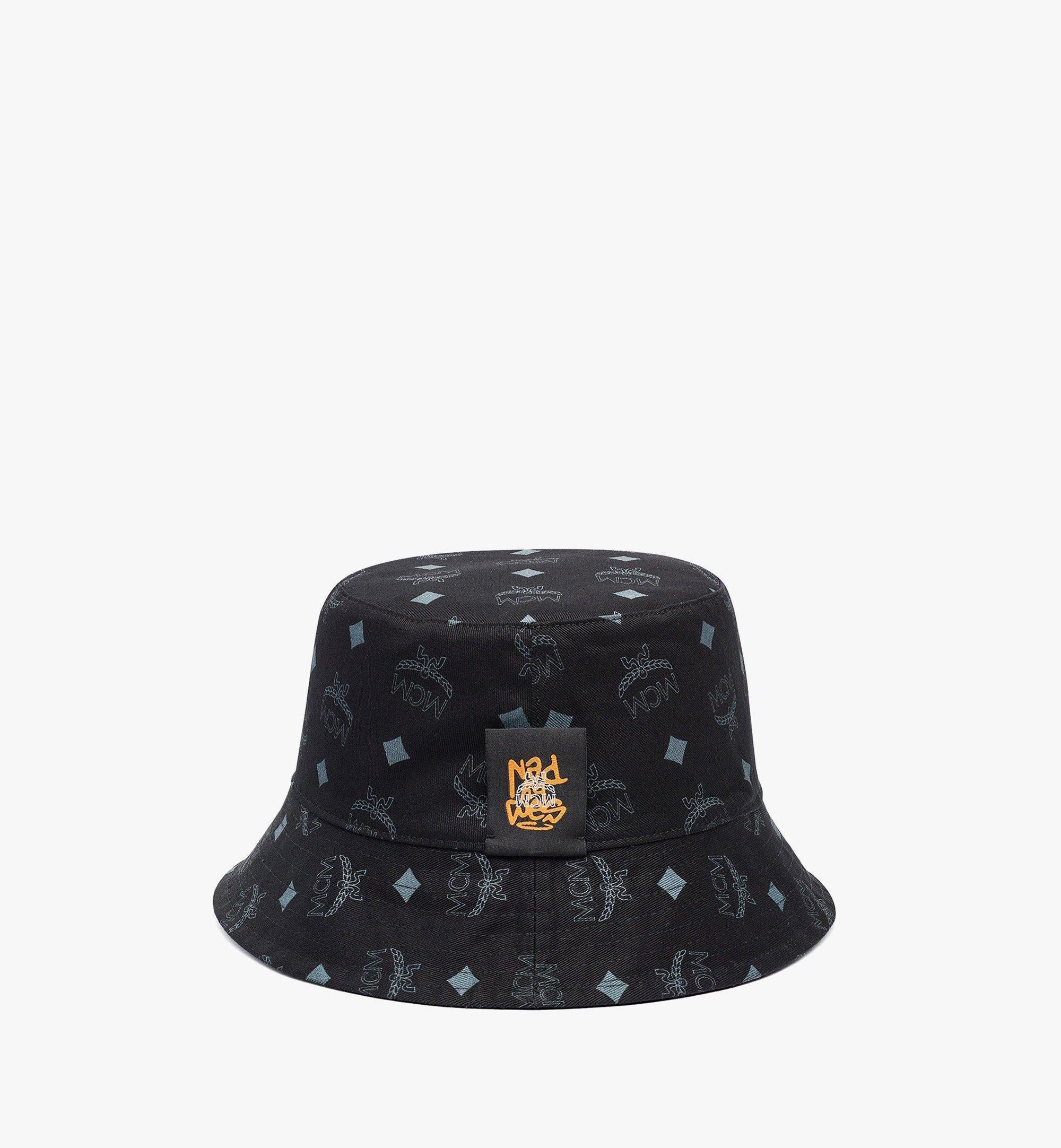 MCM MCM x SAMBYPEN Bucket Hat Black MEHBASP01BK001 Alternate View 3