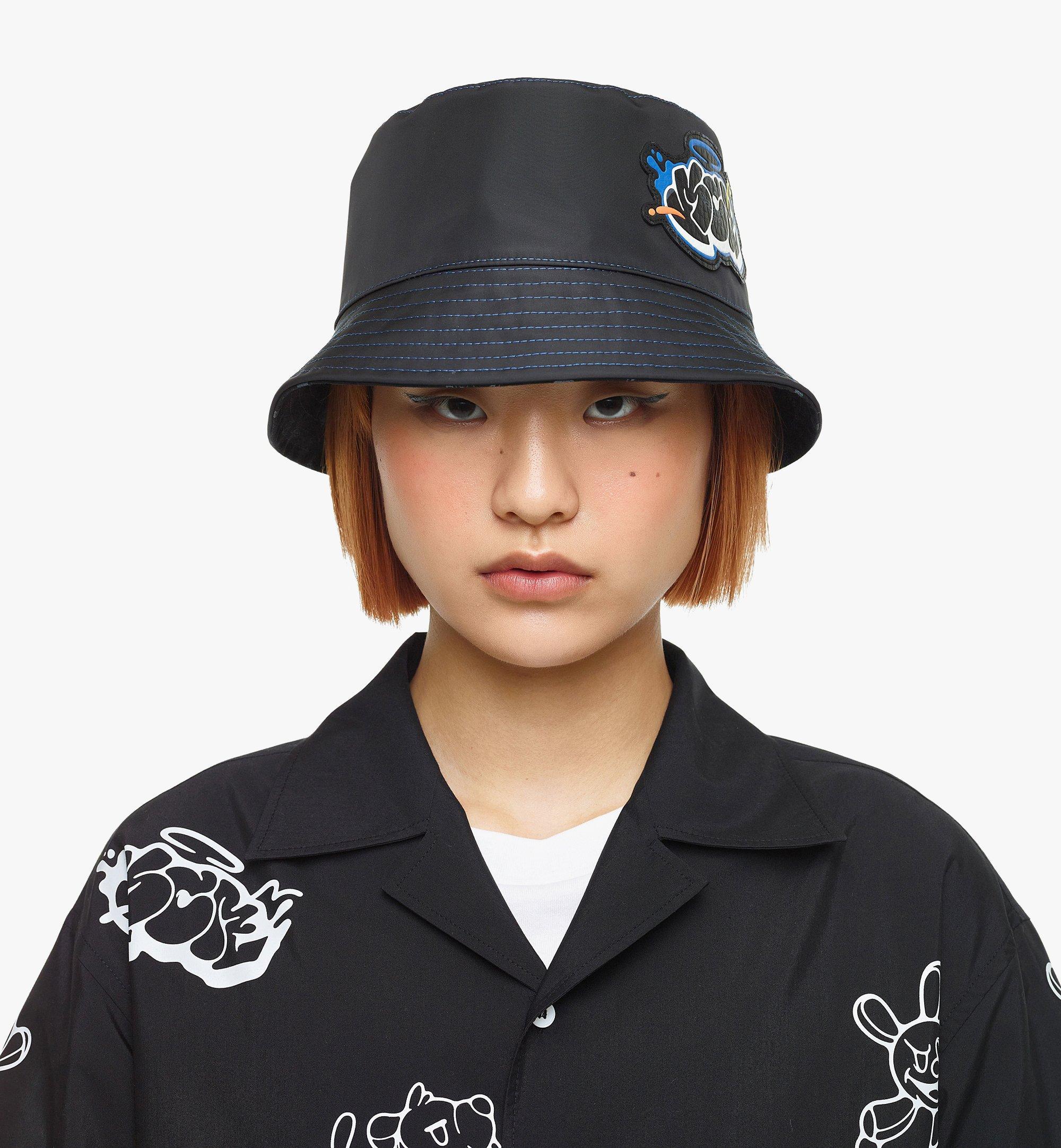 MCM MCM x SAMBYPEN Bucket Hat Black MEHBASP01BK001 Alternate View 5