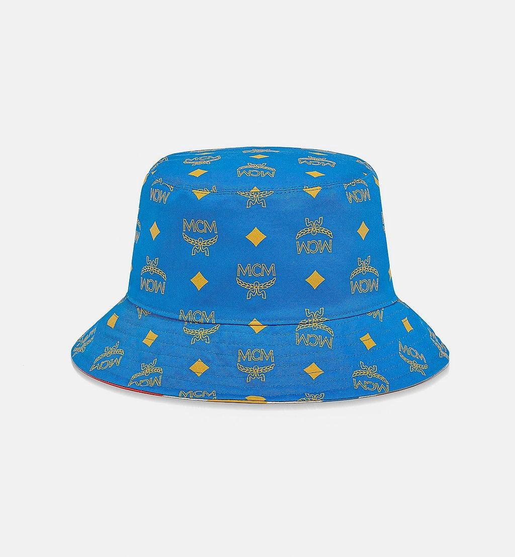 MCM Wendbarer Anglerhut aus Geo-Graffiti-Baumwolle Blue MEHBSSX01H7001 Noch mehr sehen 1