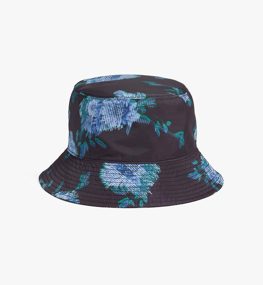MCM Tech Flower Bucket Hat Black MEHBSSX02B2001 Alternate View 1