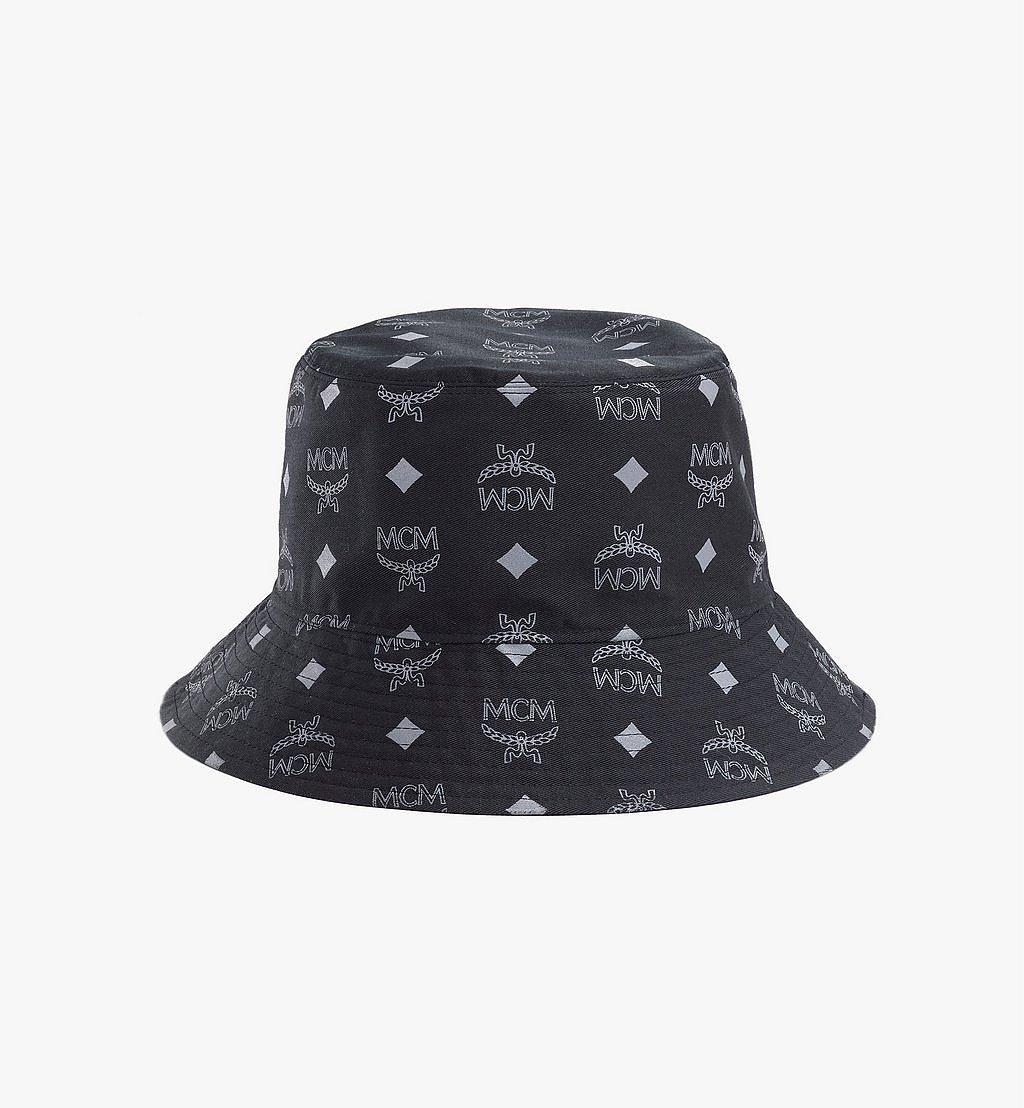 MCM Tech Flower Bucket Hat Black MEHBSSX02B2001 Alternate View 2