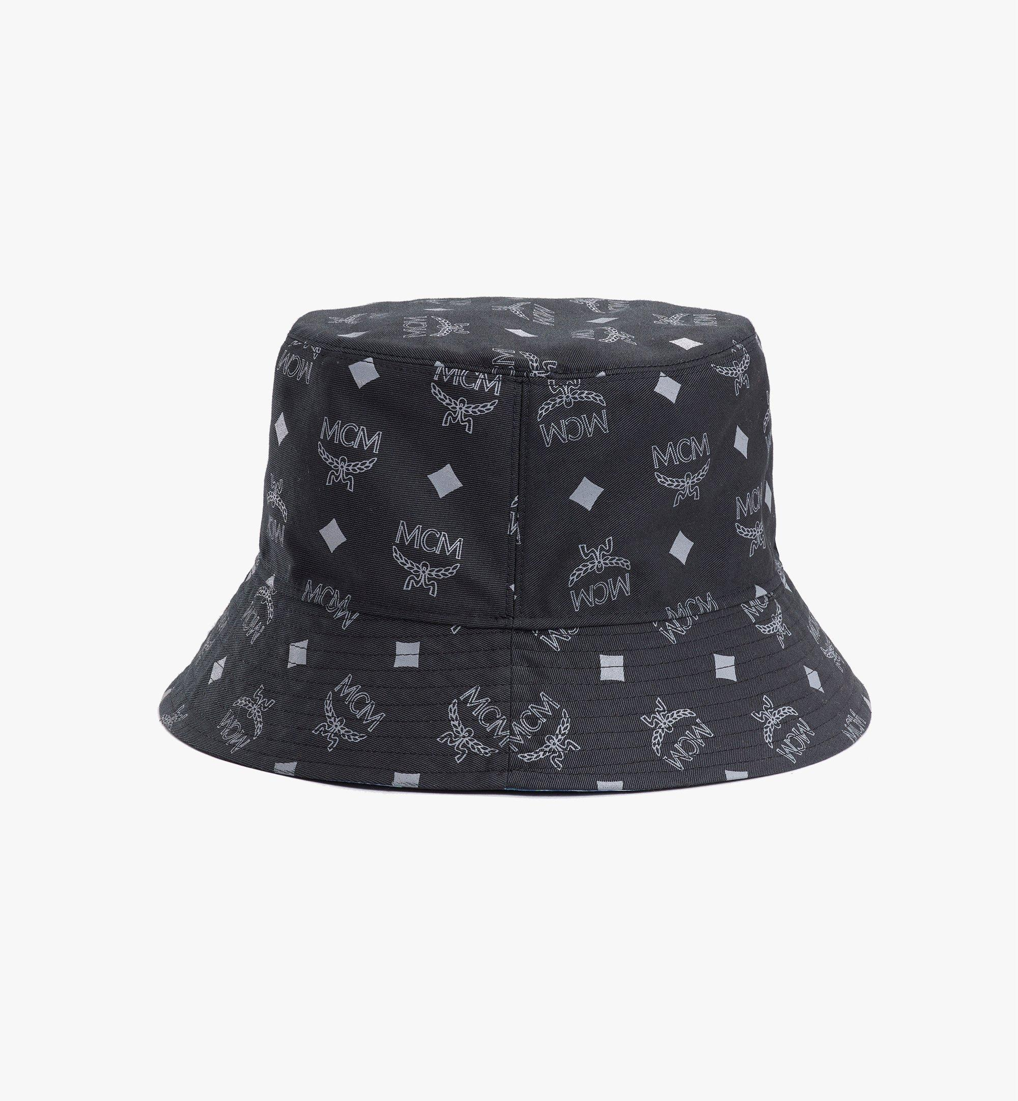 MCM Tech Flower Bucket Hat Black MEHBSSX02B2001 Alternate View 3