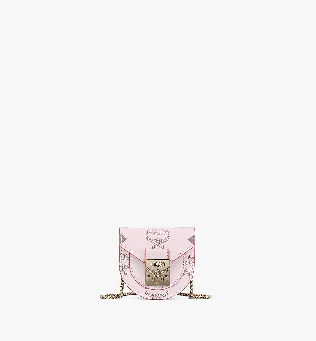 MCM Patricia Taschenarmband in Visetos Pink MEJAAMM01QH001 Noch mehr sehen 1