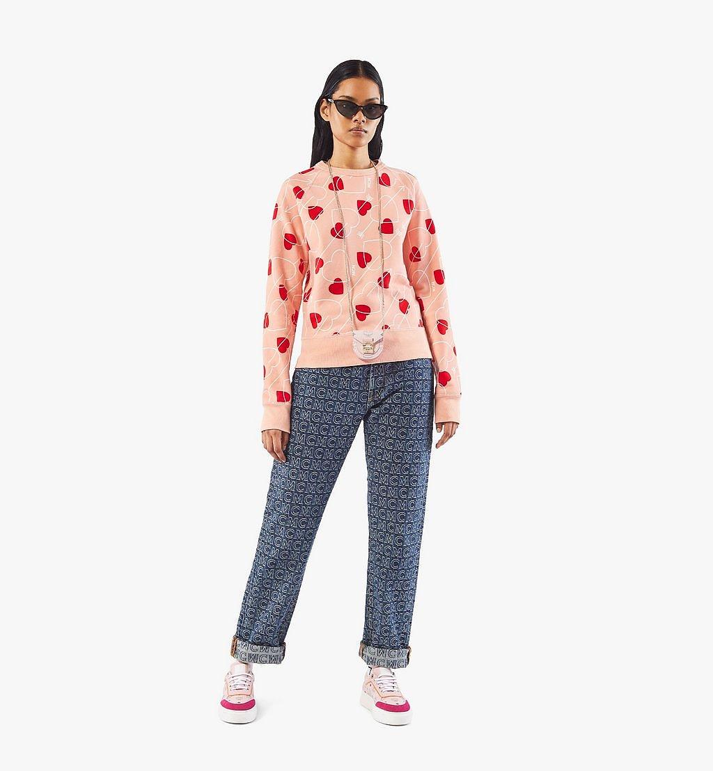 MCM Patricia Taschenarmband in Visetos Pink MEJAAMM01QH001 Noch mehr sehen 3