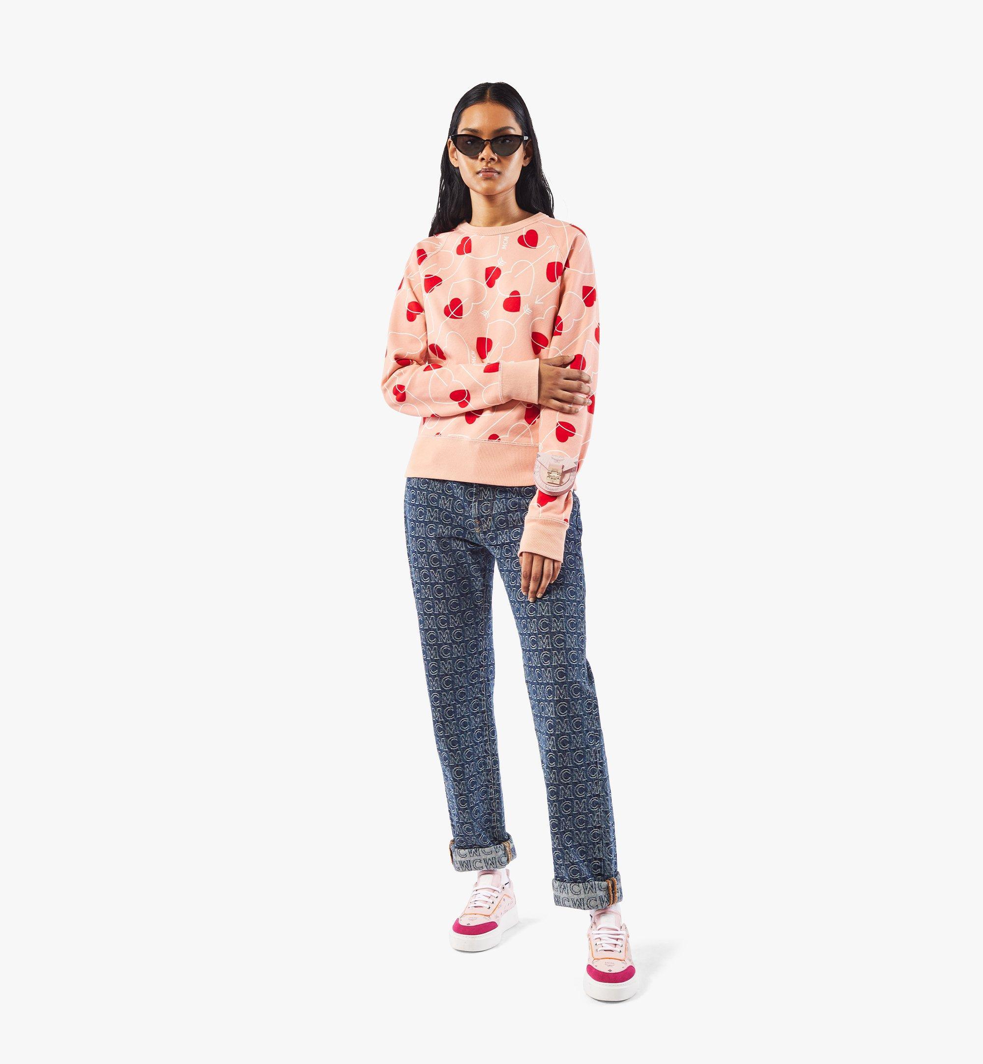 MCM Patricia Bag Bracelet in Visetos Pink MEJAAMM01QH001 Alternate View 6