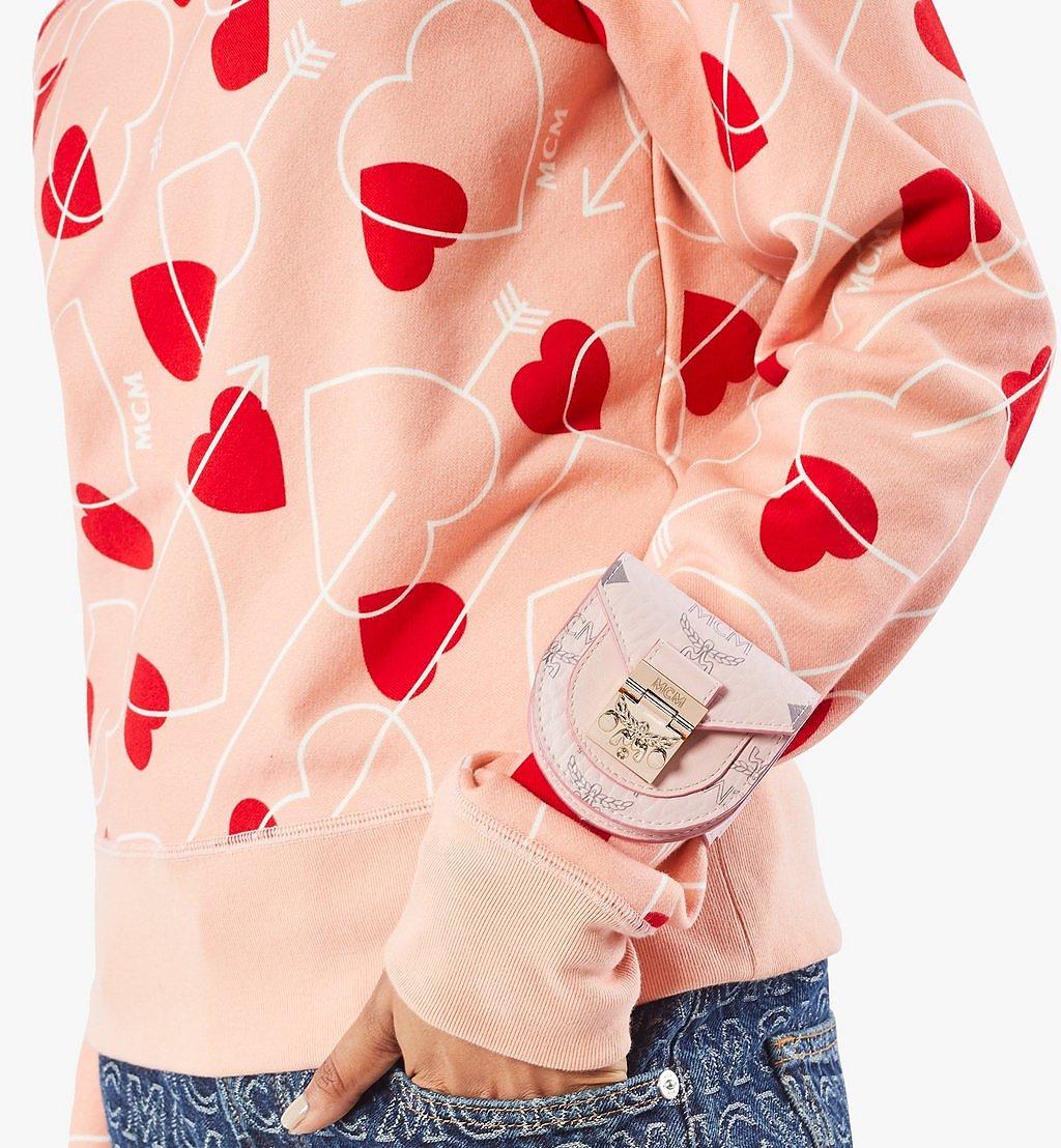 MCM Patricia Taschenarmband in Visetos Pink MEJAAMM01QH001 Noch mehr sehen 2