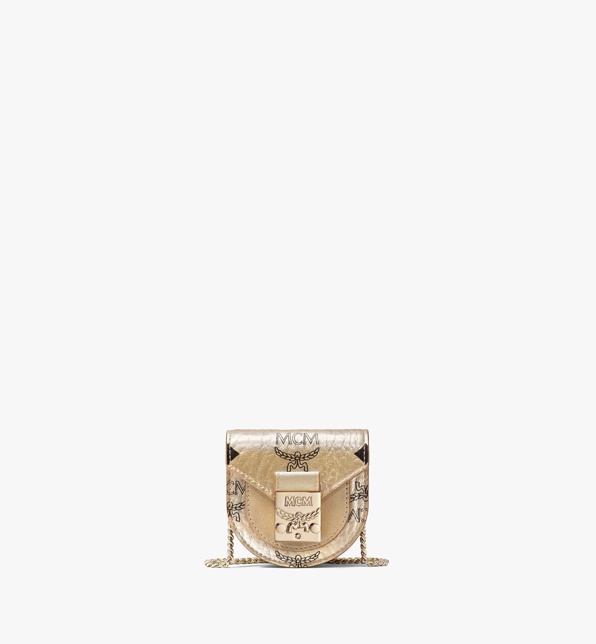 MCM Patricia Visetos手袋 Gold MEJAAMM01T1001 更多视角 1