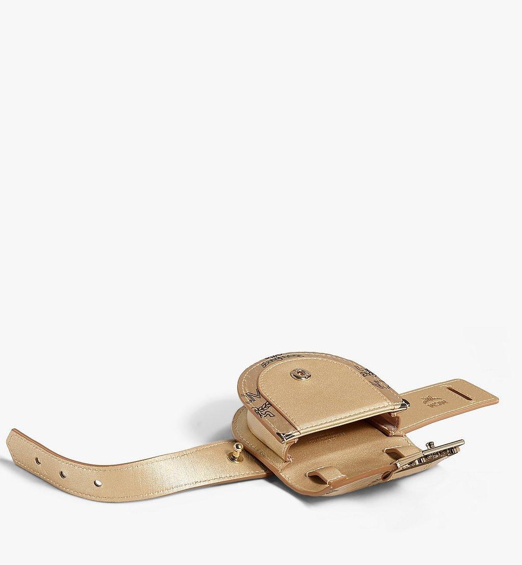 MCM Patricia Taschenarmband in Visetos Gold MEJAAMM01T1001 Noch mehr sehen 2