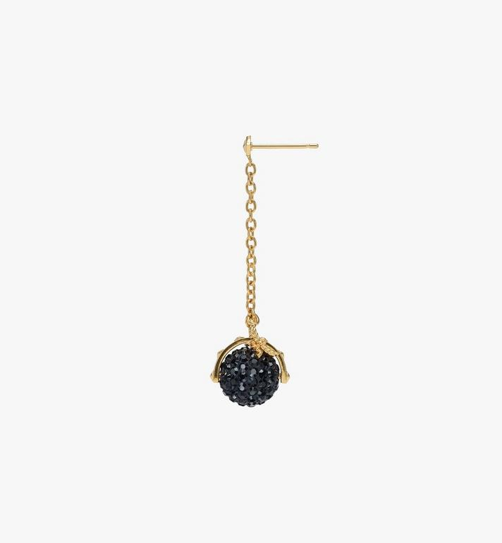 MCM Disco Ball Earrings  MEJASMM04BK001 Alternate View 2