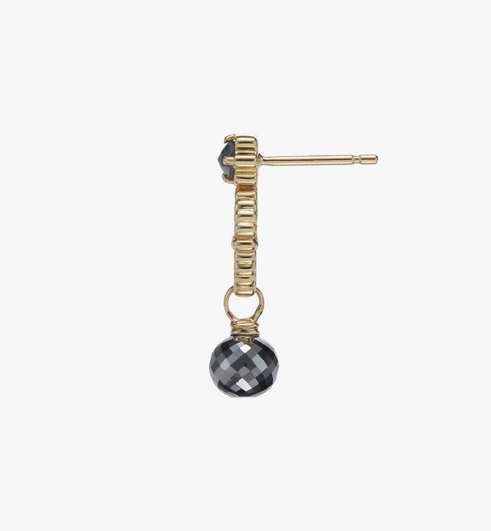 MCM Diamond Wreath Earrings Gold MEJASMM10DG001 Alternate View 2