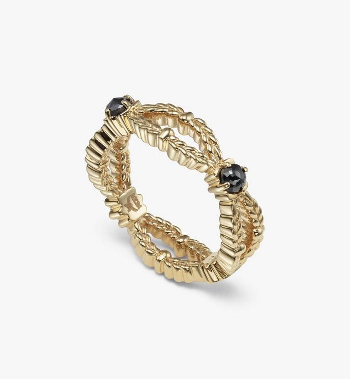 MCM Diamond Wreath Ring Gold MEJASMM13DG001 Alternate View 2