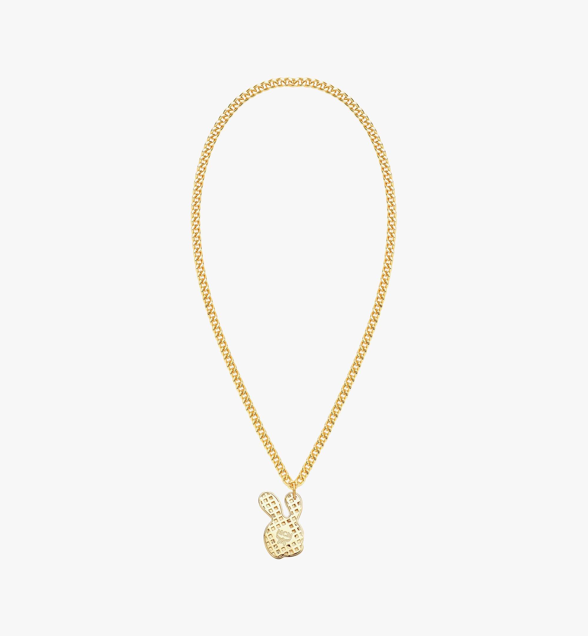 MCM MCM x SAMBYPEN Halskette mit Hasenanhänger Gold MEJBASP02DG001 Noch mehr sehen 1