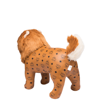 MCM MCM Zoo Chow Chow Doll in Visetos Cognac MEL8SVD11CO001 Alternate View 2