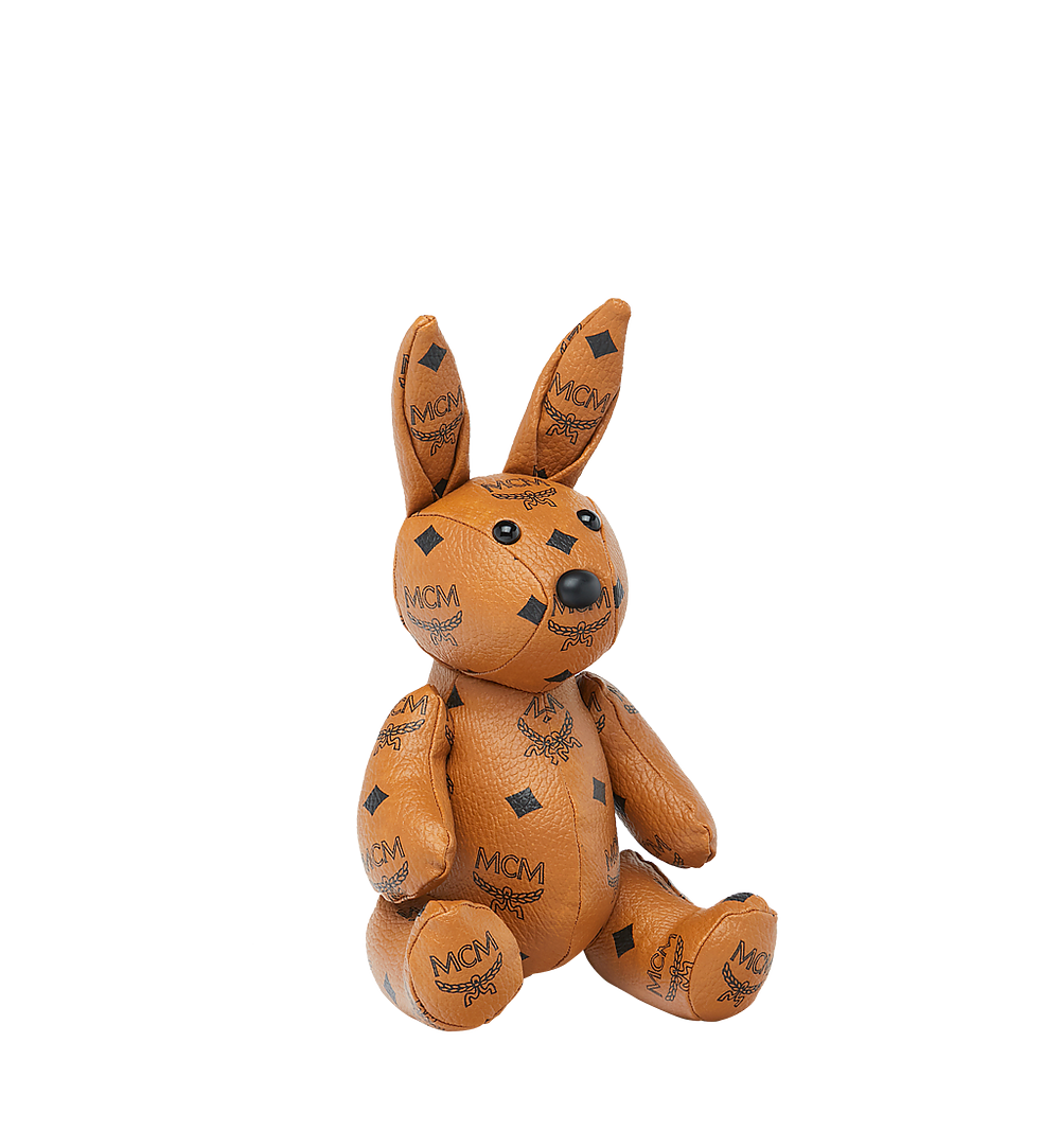 MCM Rabbit Doll in Visetos Cognac MEL8SVD22CO001 Alternate View 1