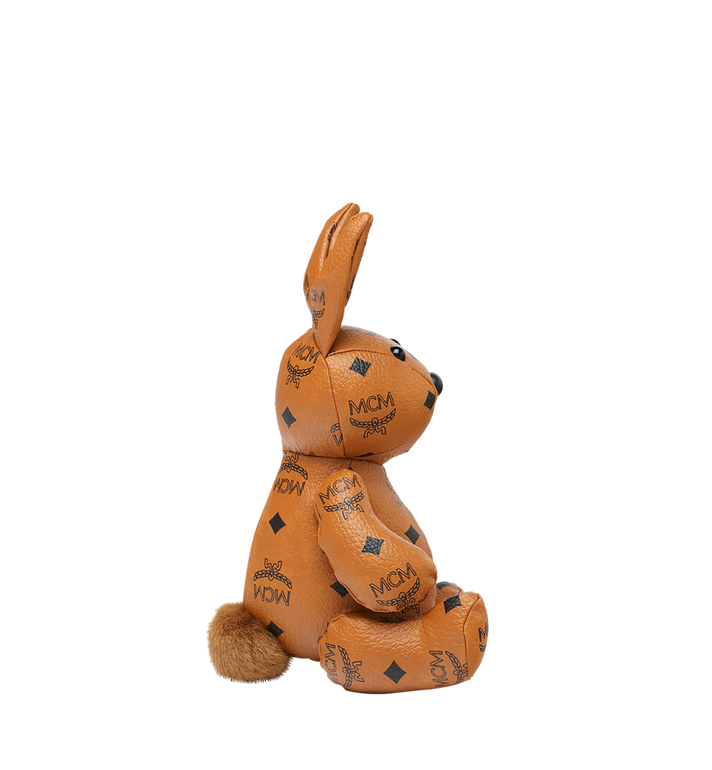 MCM Rabbit Doll in Visetos Cognac MEL8SVD22CO001 Alternate View 2