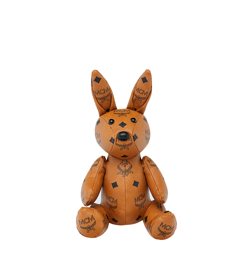 MCM Rabbit Doll in Visetos Cognac MEL8SVD22CO001 Alternate View 3