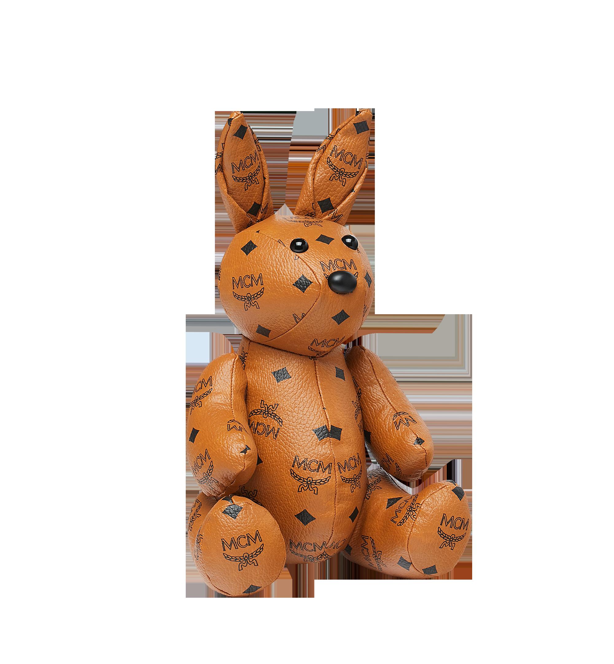 MCM Rabbit Doll in Visetos Cognac MEL8SVD23CO001 Alternate View 1