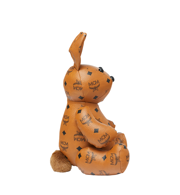 MCM Rabbit Doll in Visetos Cognac MEL8SVD23CO001 Alternate View 2