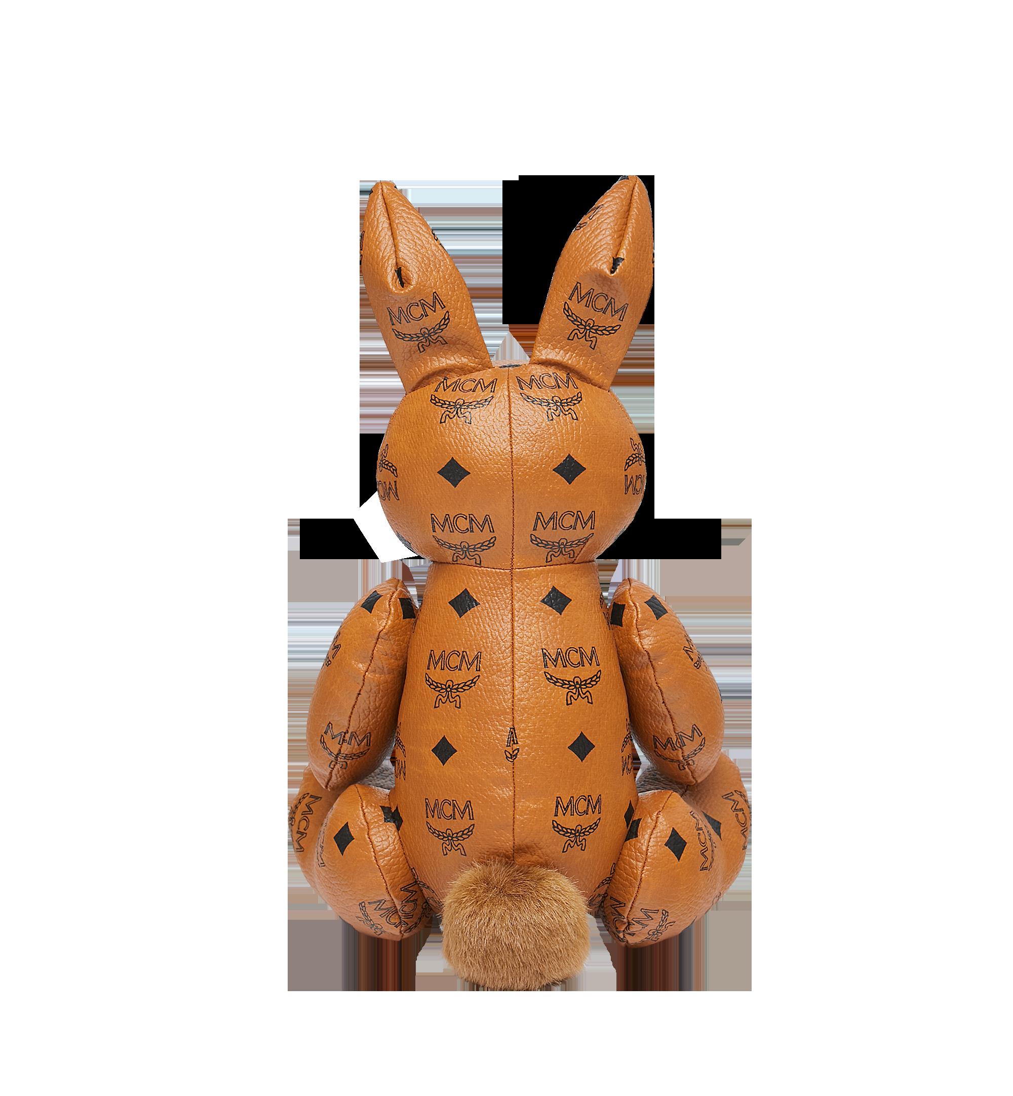 MCM Rabbit Doll in Visetos Cognac MEL8SVD23CO001 Alternate View 3