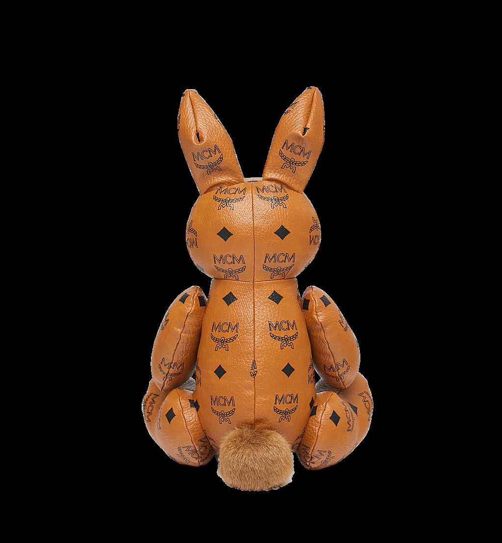 MCM Rabbit Doll in Visetos Cognac MEL8SVD23CO001 Alternate View 2