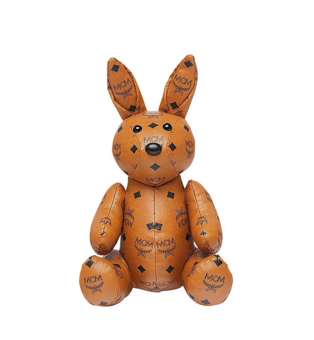 MCM Rabbit Doll in Visetos Cognac MEL8SVD23CO001 Alternate View 3