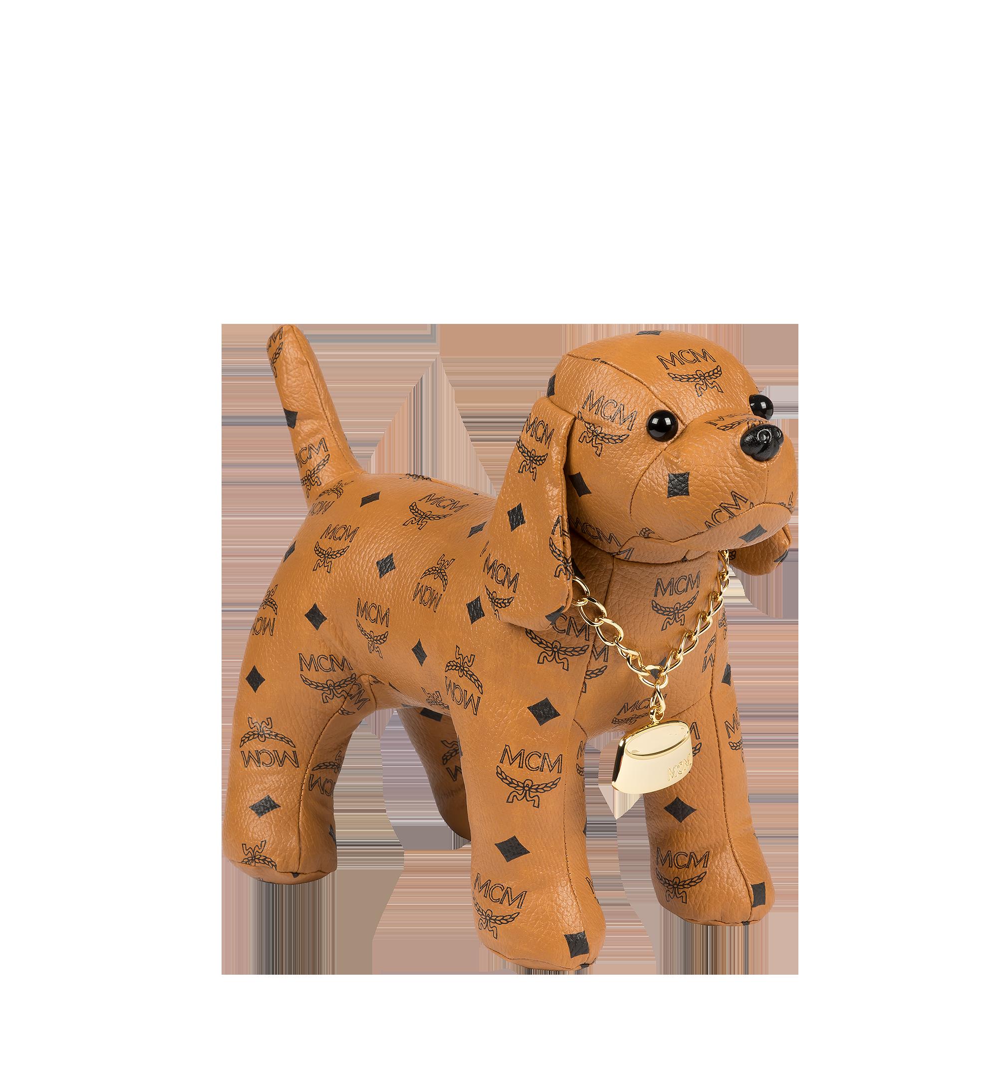 MCM Beagle Doll in Visetos Cognac MEL8SVD77CO001 Alternate View 1