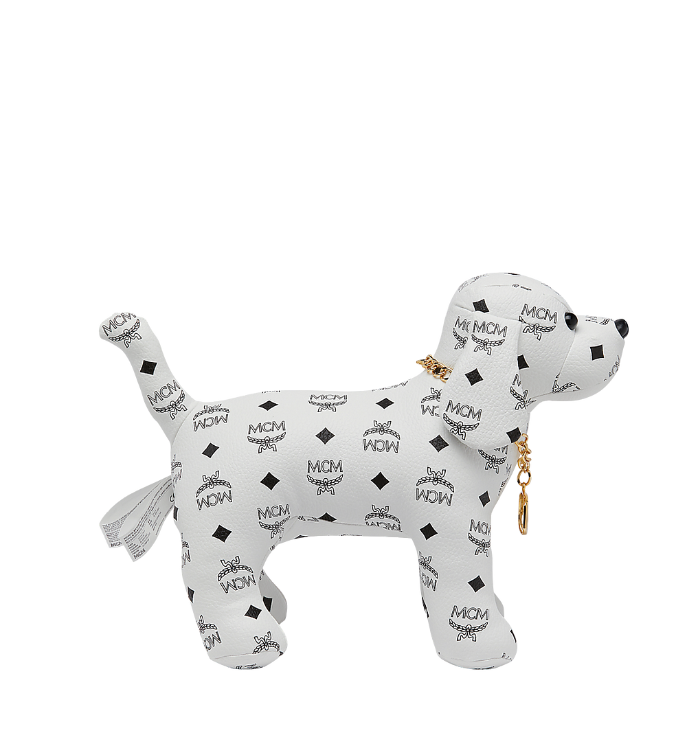 MCM Beagle Doll in Visteos White MEL8SVD77WT001 Alternate View 1