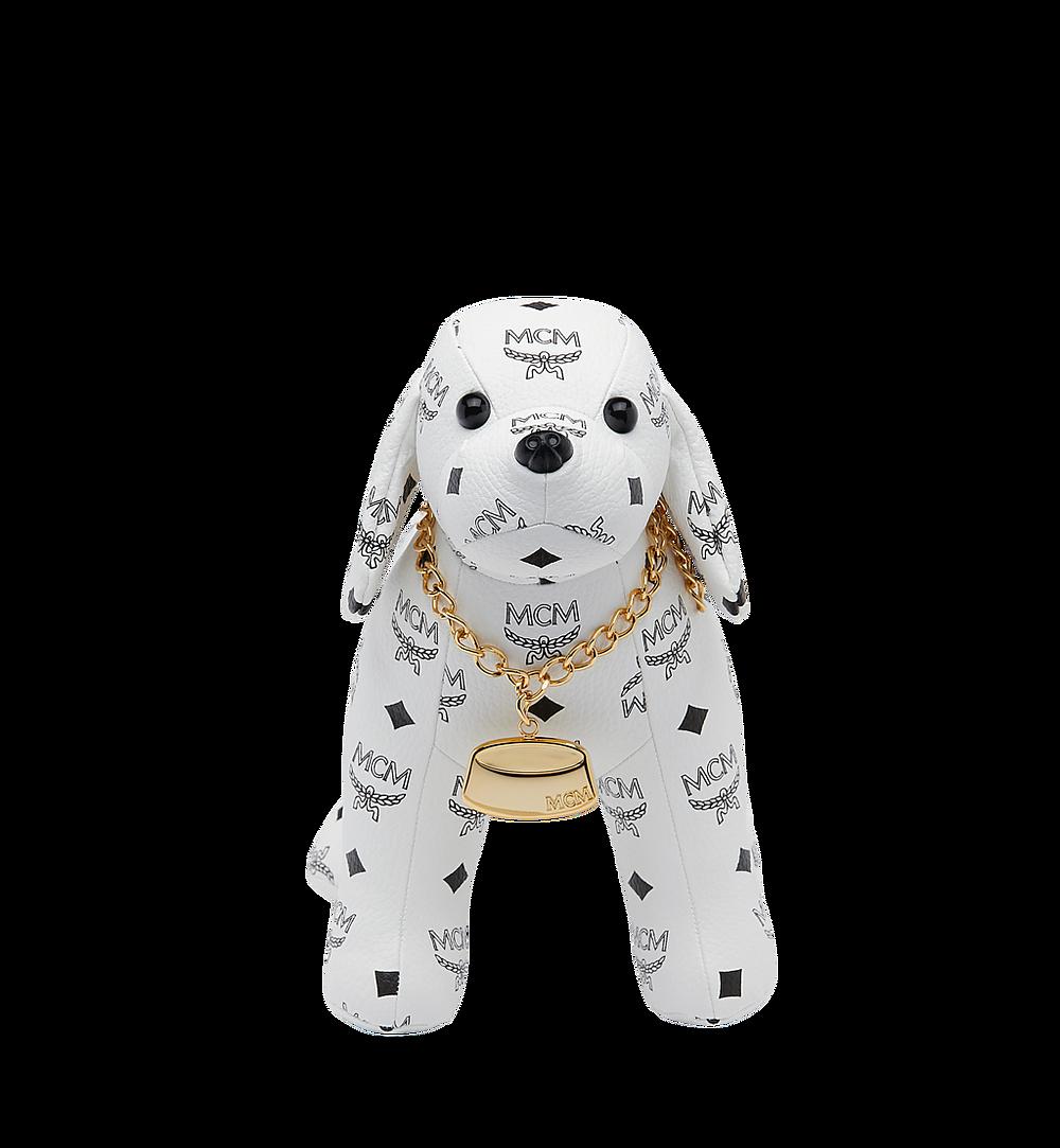 MCM Beagle Doll in Visteos White MEL8SVD77WT001 Alternate View 3