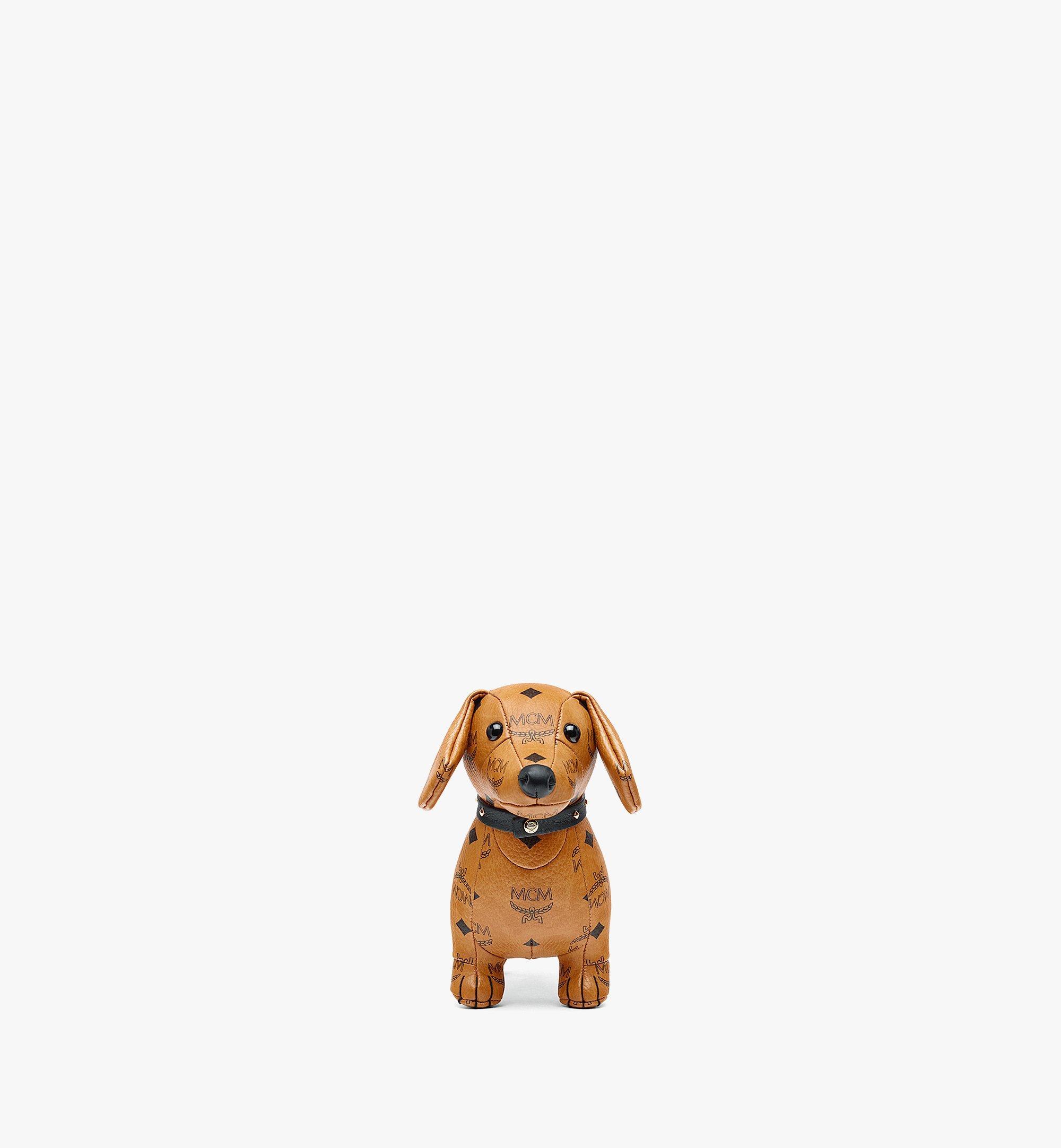 MCM Visetos 系列臘腸犬玩偶 Cognac MELBSVD07CO001 更多視圖 1