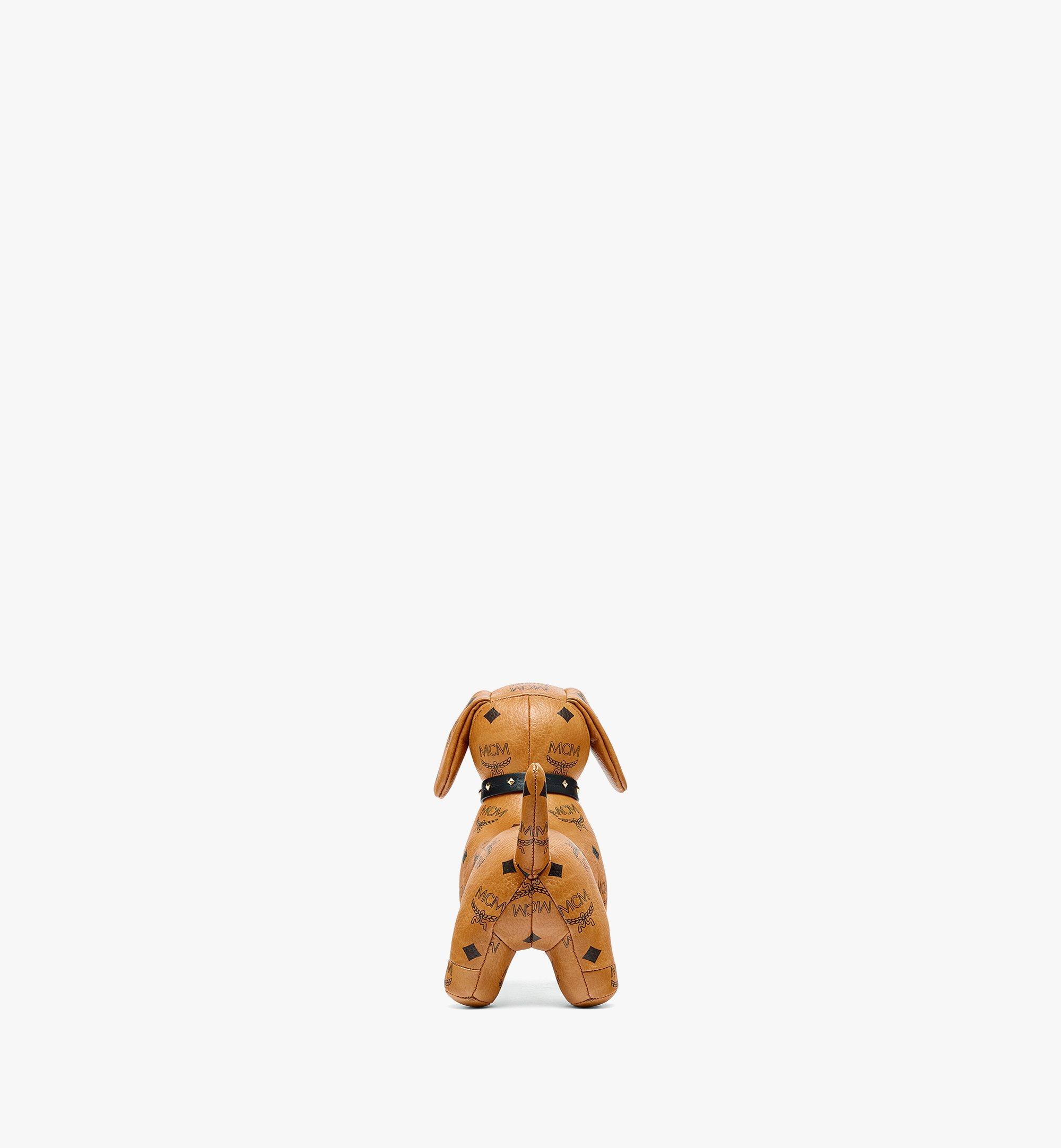 MCM Visetos 系列臘腸犬玩偶 Cognac MELBSVD07CO001 更多視圖 2