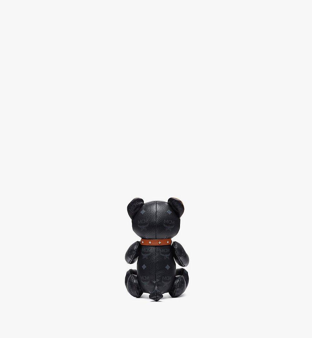 MCM Bear Doll in Visetos Black MELBSVD08BK001 Alternate View 2